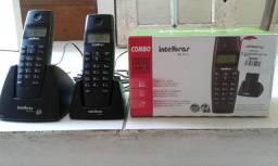 Telefone digital com fio e sem fio