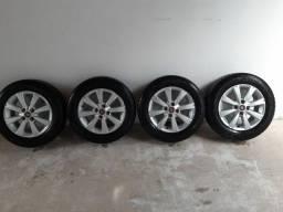 Rodas ORIGINAL Fiat + pneus zero 14