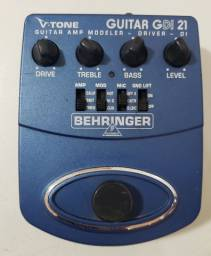 Pedal Behringer GDI21 V-Tone Driver DI Guitarra<br> (Aceito trocas)
