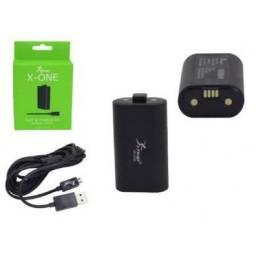 (WhatsApp) bateria e cabo carregador - controle xbox one - knup - kp-5128