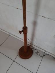 Abjur antigo de madeira ótimo produto para decoração