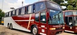 Ônibus volvo b 10m , 50 lugares e ar condicionado