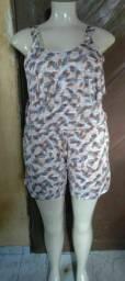 Vendo macaquinhos Pluz size veste do tamanho 48ao 54 os dois por 50 São novos.