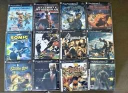 Promoção 8 Jogos de Playstation 2