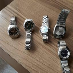 TROCO POR BIKE LOTE 5 Relógios ORIENT Automático