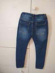 Calça jeans Denim tam 7-8