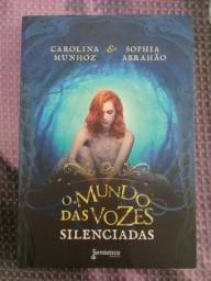 Livro o mundo das vozes silenciadas (Carolina Munhoz e Sophia Abrahao)