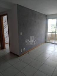 Apartamento com 2 dormitórios para alugar, 66 m² por R$ 1.000,00/mês - Pendotiba - Niterói