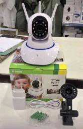 Promoção Câmera de Segurança, Robô 3 Antenas Wi-fi, Novo, Entregamos