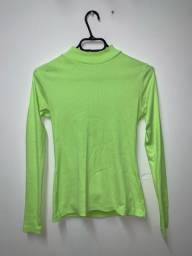 Camiseta verde neon