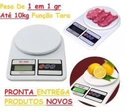 """Balança Digital Cozinha Receitas Até 10kg Divisão 1 em 1g """"NOVA"""""""
