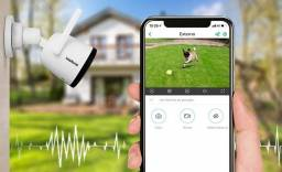 Câmera Wifi Full Hd Externa Intelbras - 3 X sem juros