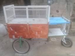 Vendo carrinho de churrasco ou milho verde valor 200 reais