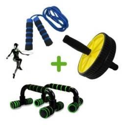 Título do anúncio: Kit Para Exercícios Físicos Multifuncional Em Casa