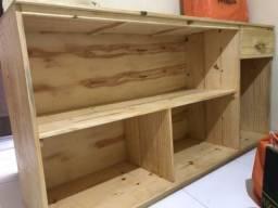 Balcão de atendimento (madeira)