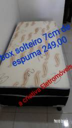 Cama box de solteiro pronto entrega R$ 249,00 entrega gratis