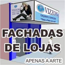 Fachadas de Lojas