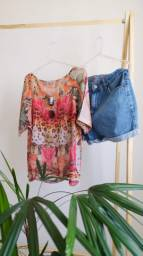 Blusa colorida e fresquinha para o verão