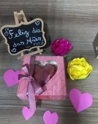 Coração trufado e caixa de doces para o dia das mães!