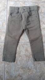 Calças jeans infantil
