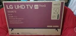 Vendo essa TV LG 50 nova sem uso
