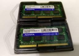 Memória Notebook 4gb (2x2gb)  DDR3