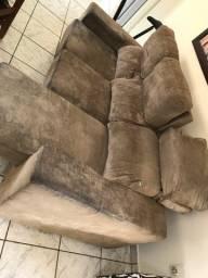 Vendo sofá reclinável e retrátil