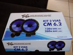 Kit 2 vias HURRICANE 130w RMS