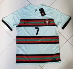 Camisa de futebol de Portugal 2020/21 tam M