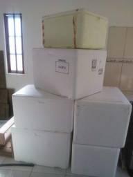 Caixas de Isopor 70 ou 100 litros