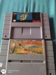 Cartucho super Mario world  e Power pigg