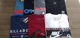 Camisetas vários modelos