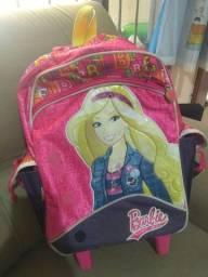 Mochila Barbie de rodinha