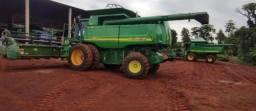 Colheitadeira agrícola John Deere sts 9650 - 2009 (Leia o anúncio)