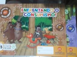 Kit Material Didático Completo da Escola da Inteligência - Infantil