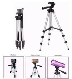 Tripé Profissional Inova Universal Para Câmera E Celular 1,50cm Spo-8194