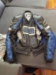 Jacket top de linha shift original couro