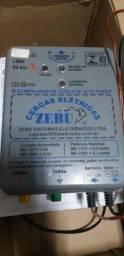 Eletrificador De Cerca Rural Zebu Com Regulagem 80 Km Zk80