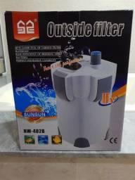 Filtro canister sunsun hw 402B com uv 9v