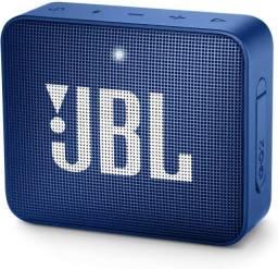 Caixa De Som Jbl Go 2 Portátil Com Bluetooth Deep Sea Blue/ Com NF-e