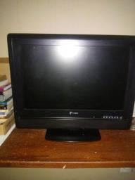 """Tv 14 """" polegadas com antena, conversor,"""
