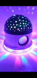 Abajur caixa de som,Céu Estrelado com Bluetooth! ?