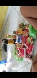 Vendo cesta alimentícia