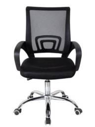 Cadeira Escritório Giratória Preta