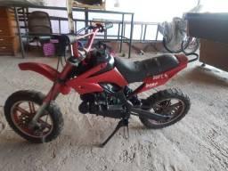 Mini moto cross infantil 50cc