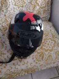 Vendo capacete original Hjc Lorenzo