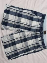 Bermuda Zara Jeans Tam 46