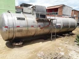 Tanque em inox de 15mil litros - 2011