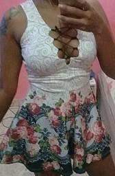 Marquinhos e vestido