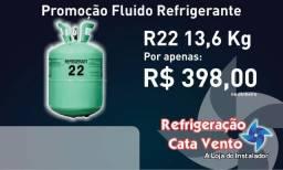 R22 - Gas Refrigerante - Cilindro 13,6kg - Lacrado (Dinheiro)